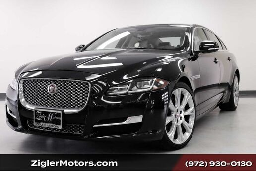 2016 Jaguar XJL Portfolio AWD 28Kmi Clean Carfax Factory Warranty ! Addison TX
