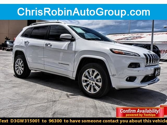 2016 Jeep Cherokee 4WD 4DR OVERLAND Odessa TX