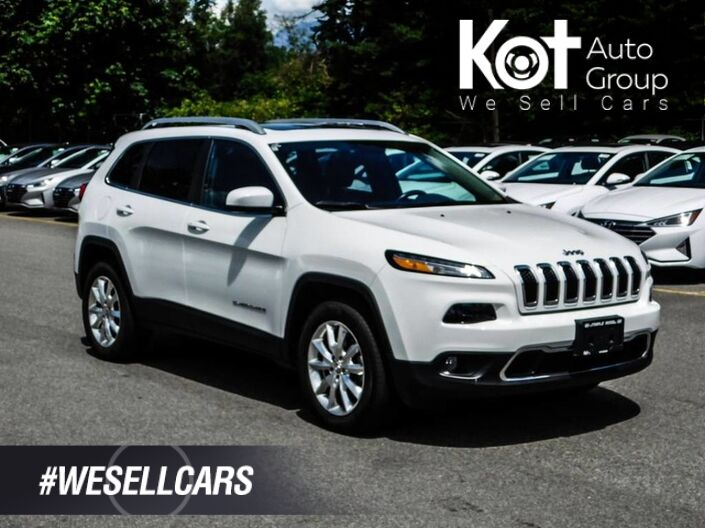 2016 Jeep Cherokee 4WD 4dr Limited Maple Ridge BC