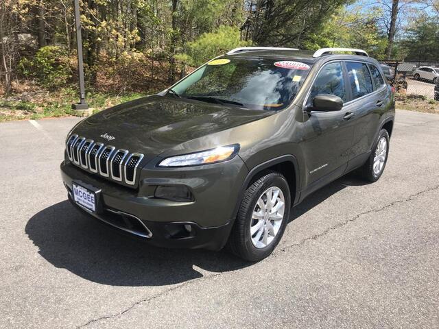 2016 Jeep Cherokee 4WD 4dr Limited Pembroke MA