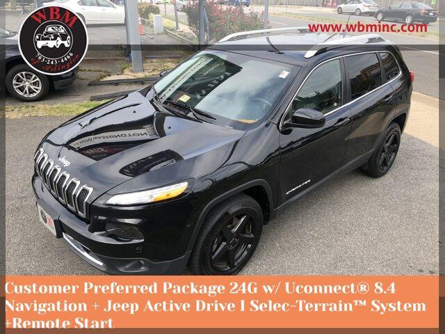 2016 Jeep Cherokee 4WD Limited Arlington VA