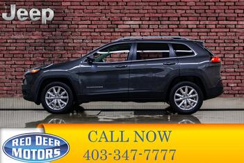 2016_Jeep_Cherokee_4x4 Limited Leather Roof Nav BCam_ Red Deer AB