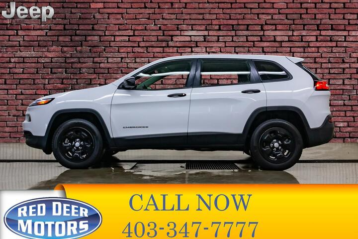 2016 Jeep Cherokee 4x4 Sport Red Deer AB