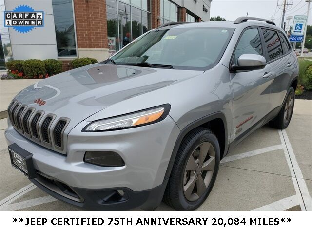 2016 Jeep Cherokee 75th Anniversary Edition Mayfield Village OH