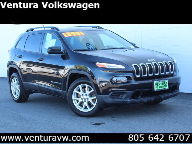 2016 Jeep Cherokee FWD 4dr Sport
