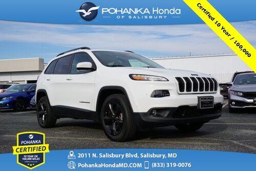 2016_Jeep_Cherokee_Latitude ** Pohanka Certified 10 Year / 100,000  **_ Salisbury MD