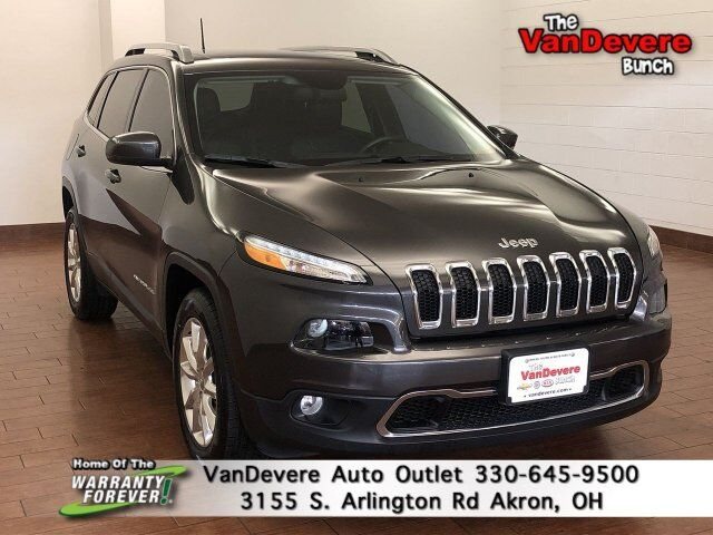 2016 Jeep Cherokee Limited Akron OH
