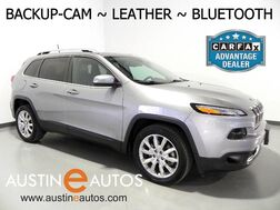 2016_Jeep_Cherokee Limited_*BACKUP-CAMERA, TOUCH SCREEN, LEATHER, HEATED SEATS & STEERING WHEEL, ALLOY WHEELS, BLUETOOTH PHONE & AUDIO_ Round Rock TX