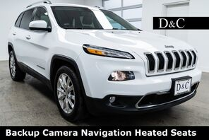 2016_Jeep_Cherokee_Limited Backup Camera Navigation Heated Seats_ Portland OR