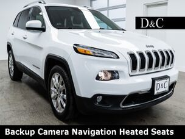 2016 Jeep Cherokee Limited Backup Camera Navigation Heated Seats