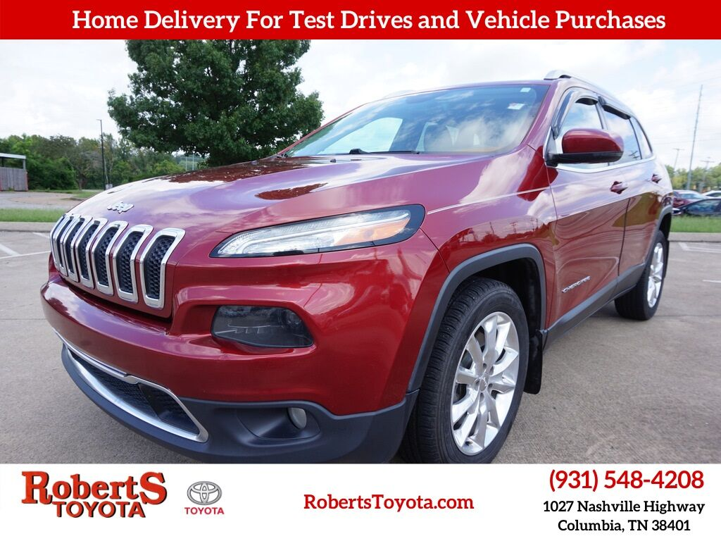 2016 Jeep Cherokee Limited Columbia TN