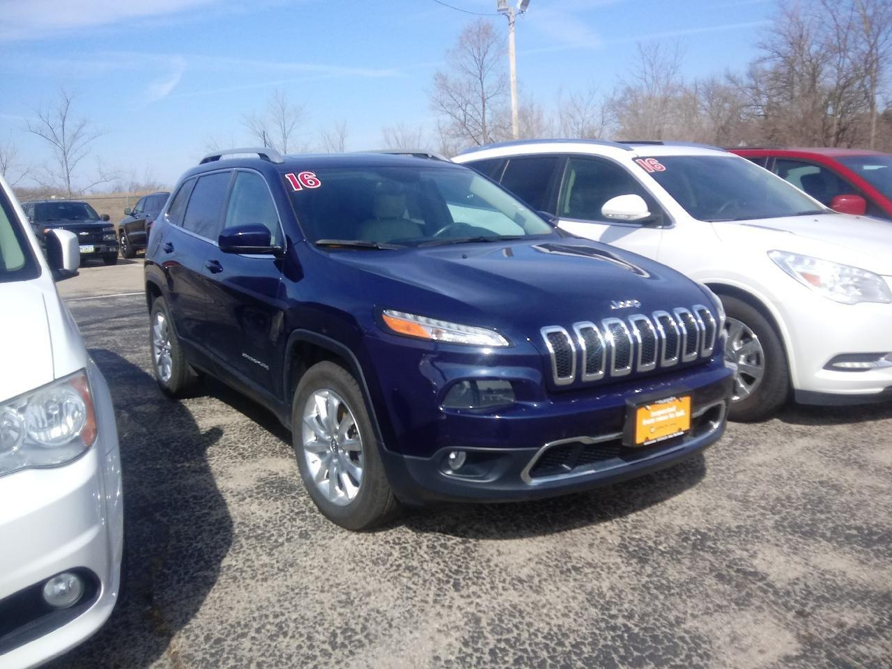 2016 Jeep Cherokee Limited Dubuque IA