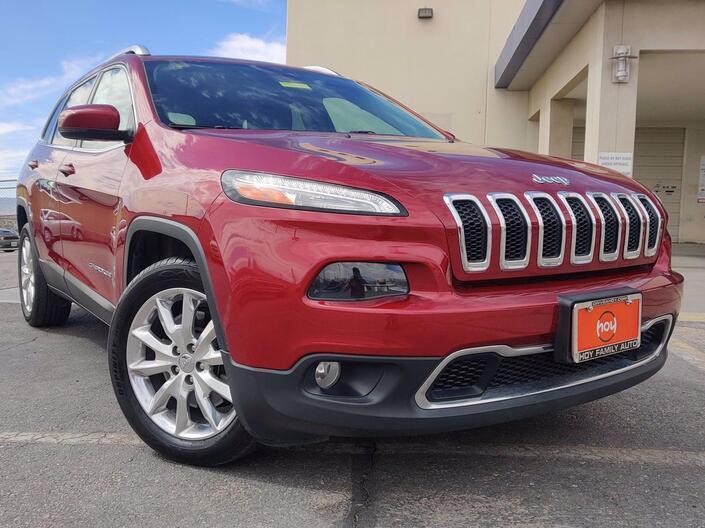 2016 Jeep Cherokee Limited El Paso TX