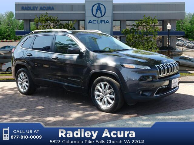 2016 Jeep Cherokee Limited Falls Church VA