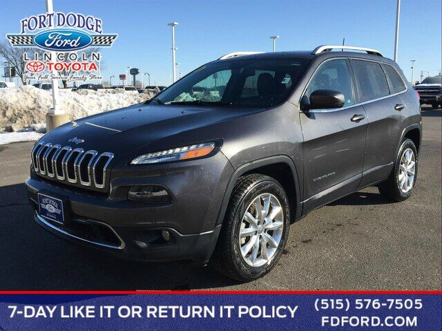 2016 Jeep Cherokee Limited Fort Dodge IA