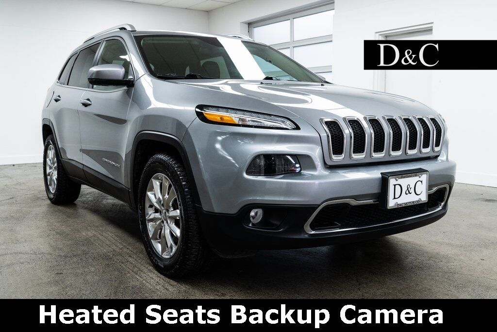2016 Jeep Cherokee Limited Heated Seats Backup Camera Portland OR