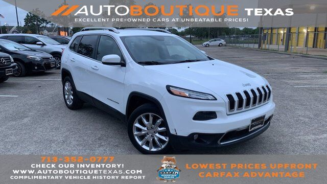 2016 Jeep Cherokee Limited Houston TX