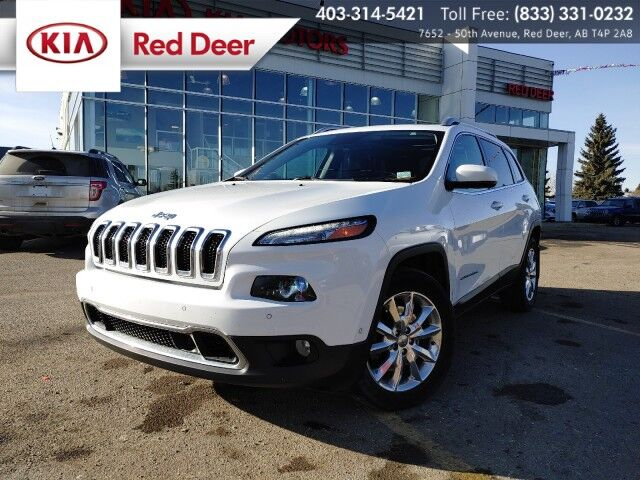 2016 Jeep Cherokee Limited Red Deer AB