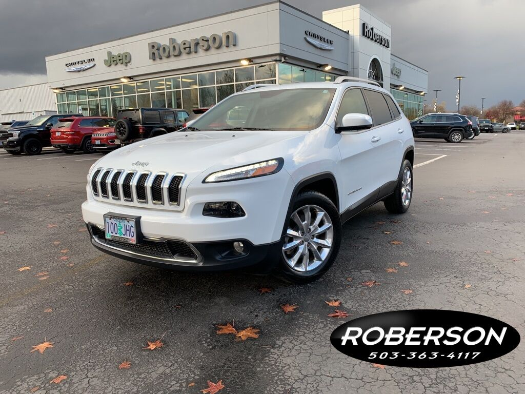 2016 Jeep Cherokee Limited Salem OR