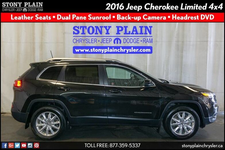 2016 Jeep Cherokee Limited Stony Plain AB