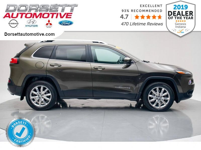 2016 Jeep Cherokee Limited Terre Haute IN