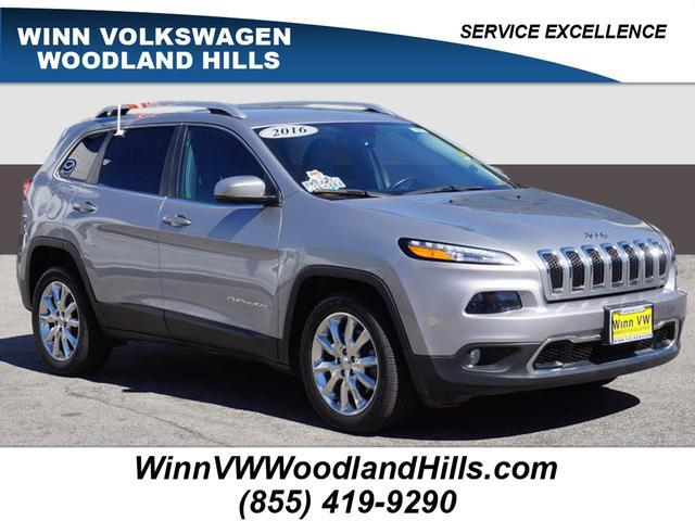 2016 Jeep Cherokee Limited Woodland Hills CA