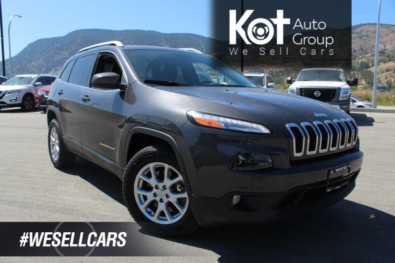 2016 Jeep Cherokee North, Cool Rhino Grey Exterior Kelowna BC