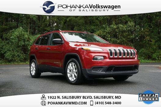 2016_Jeep_Cherokee_Sport ** ONE OWNER ** 31+ MPG **_ Salisbury MD