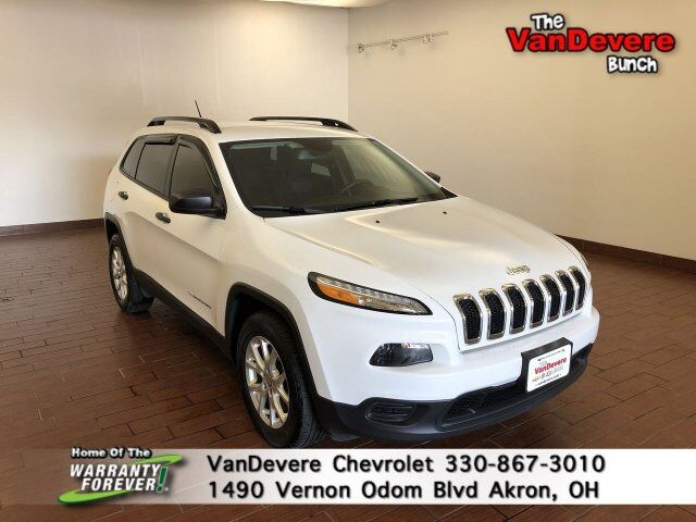 2016 Jeep Cherokee Sport Akron OH