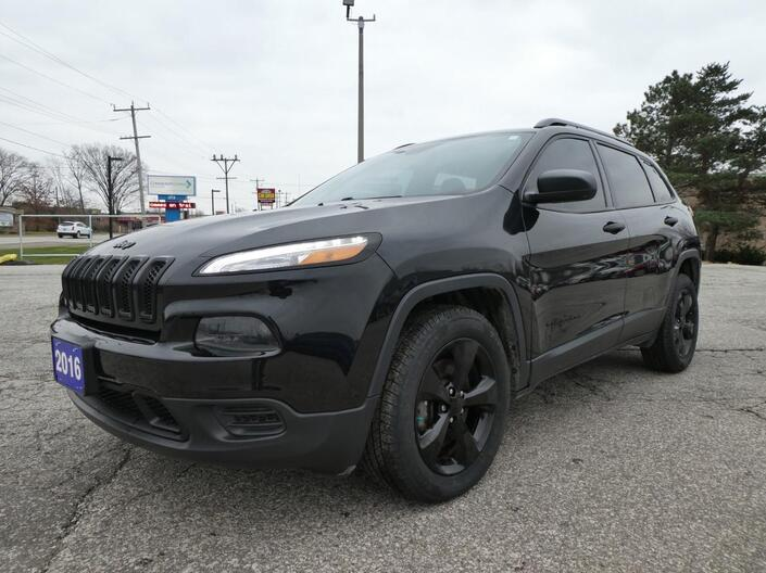2016 Jeep Cherokee Sport Back Up Cam Remote Start Cruise Control Essex ON