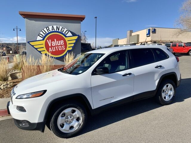 2016 Jeep Cherokee Sport Durango CO