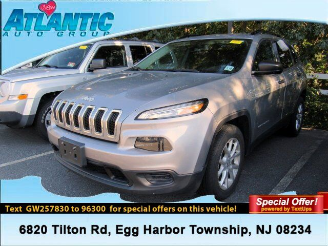 2016 Jeep Cherokee Sport Egg Harbor Township NJ