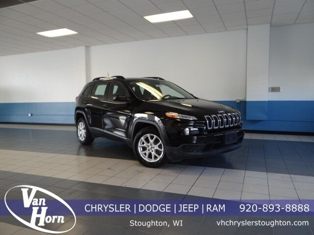 2016 Jeep Cherokee Sport Plymouth WI