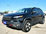 2016 Jeep Cherokee Trailhawk 3.2L   Panoramic Roof   Heated Seats   Remote Start Essex ON