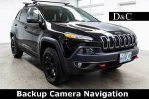 2016_Jeep_Cherokee_Trailhawk Backup Camera Navigation_ Portland OR
