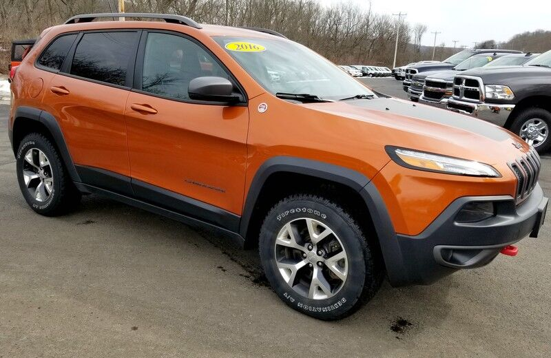 2016 Jeep Cherokee Trailhawk Rock City NY