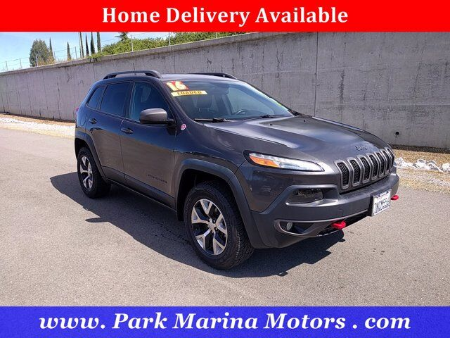 2016 Jeep Cherokee Trailhawk Redding CA