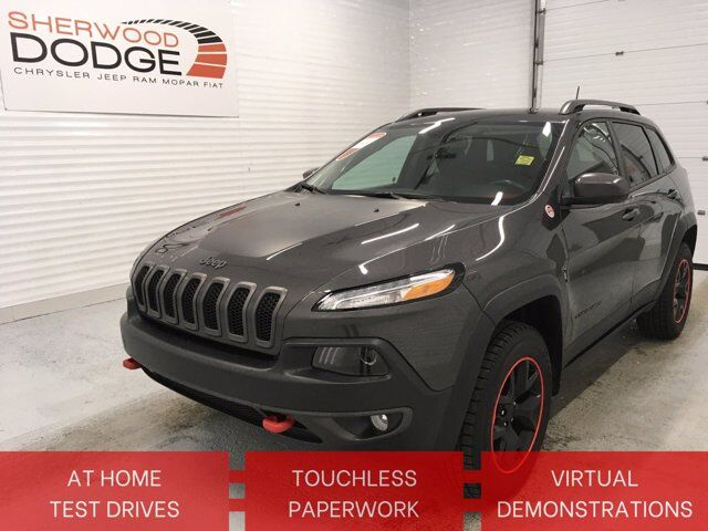 2016 Jeep Cherokee Trailhawk | HTD SEATS/WHEEL | RMT START | CLN CARFAX