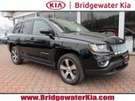 2016 Jeep Compass High Altitude Edition 4WD, Navigation System, Rear-View Camera, Touch-Screen Audio Display, Bluetooth Technology, Heated Leather Seats, Power Sunroof, 17-Inch Alloy Wheels,