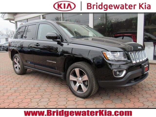 2016 Jeep Compass High Altitude Edition 4WD, Navigation System, Rear-View Camera, Touch-Screen Audio Display, Bluetooth Technology, Heated Leather Seats, Power Sunroof, 17-Inch Alloy Wheels, Bridgewater NJ