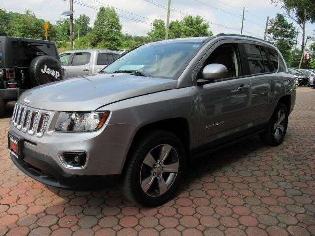 2016 Jeep Compass High Altitude Edition 4WD, Remote Start System, Navigation, Rear-View Camera, Bluetooth Streaming Touch Screen Audio, Heated Leather Seats, Power Sunroof, 17-Inch Alloy Wheels, Bridgewater NJ