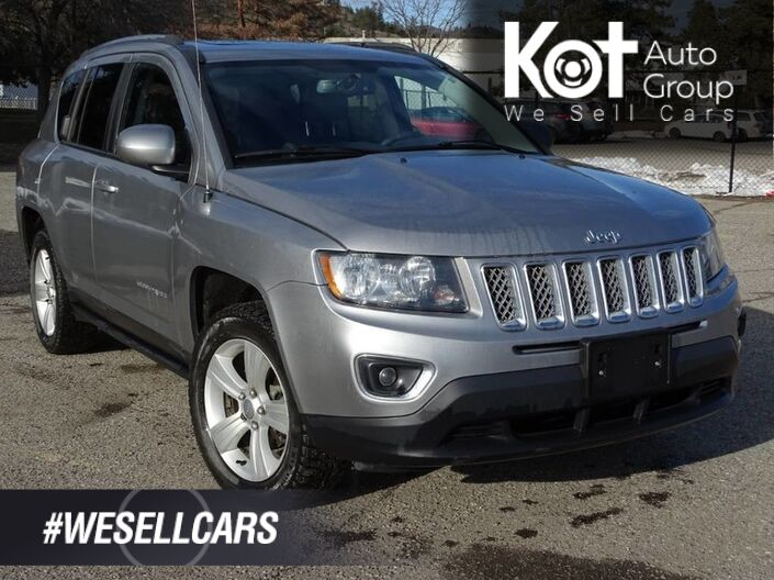 2016 Jeep Compass High Altitude, Extra Set of Tires, Heated Leather Seats, Low KM's, Sunroof Kelowna BC