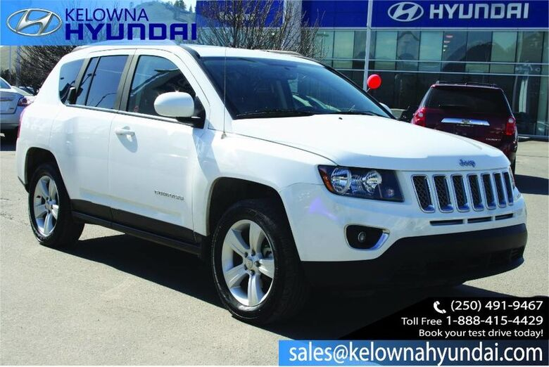 2016 Jeep Compass High Altitude Heated seats, Bluetooth, Leather, Sunroof Kelowna BC