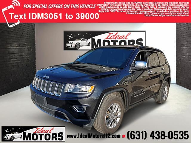 2016 Jeep Grand Cherokee 4WD 4dr Limited Medford NY