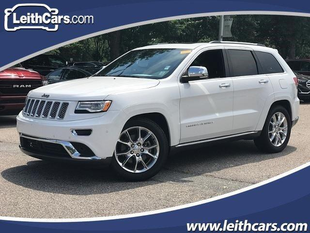 2016 Jeep Grand Cherokee 4WD 4dr Summit Cary NC