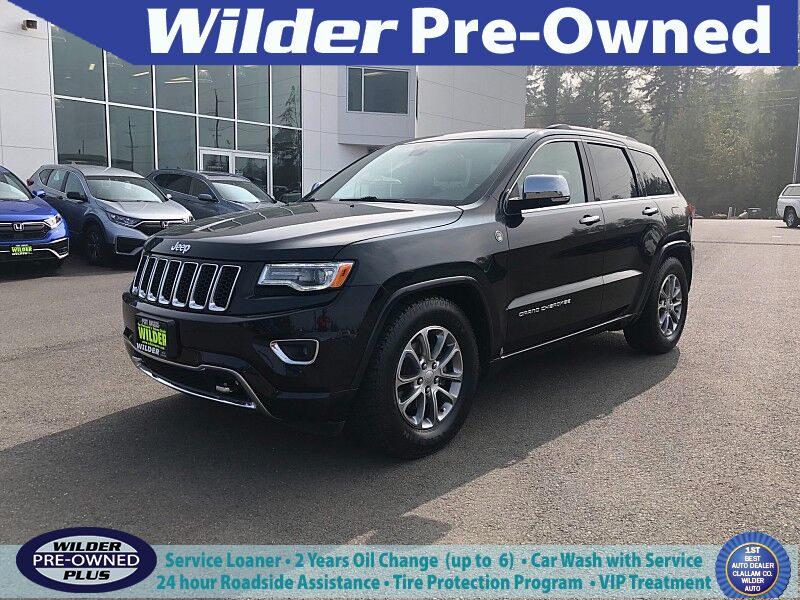 2016 Jeep Grand Cherokee 4d SUV 4WD Overland Port Angeles WA