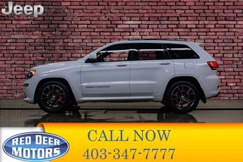 2016_Jeep_Grand Cherokee_4x4 SRT Leather Roof Nav_ Red Deer AB