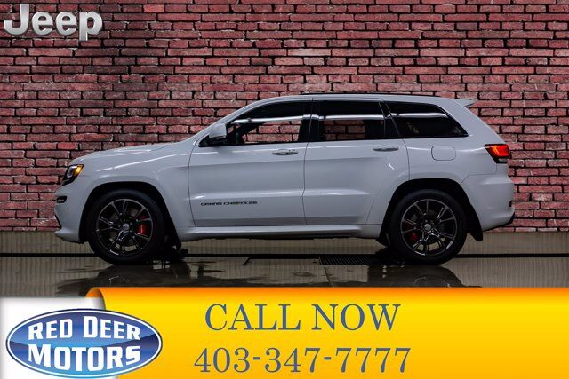 2016 Jeep Grand Cherokee 4x4 SRT Leather Roof Nav Red Deer AB