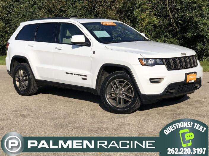 2016 Jeep Grand Cherokee 75th Anniversary Edition Racine WI