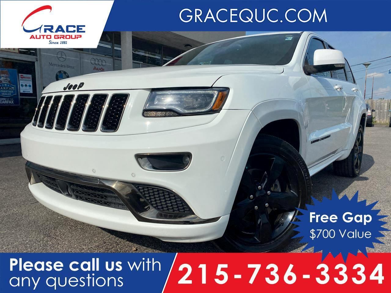 2016 Jeep Grand Cherokee HIGH ALTITUDE Morrisville PA